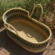 baby moses basket - baby cribs - nursery baskets from bolga ghana