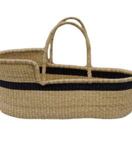 baby bed black natural moses basket wholesale
