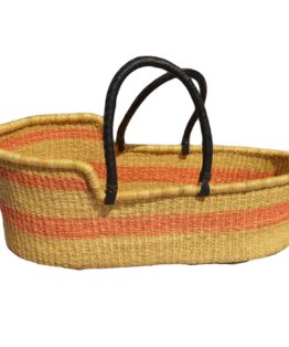 baby bed moses basket bassinet handmade straw ghana wholesale